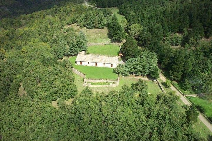 Rifugio Forestale Santa Maria del Bosco (foto aerea E.Crimi)